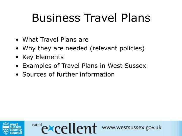 Business travel plans2