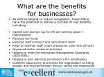 what are the benefits for businesses