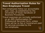 travel authorization rules for non employee travel12