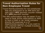 travel authorization rules for non employee travel15