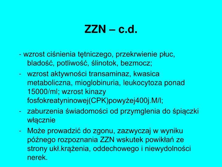 ZZN – c.d.