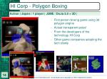 hi corp polygon boxing