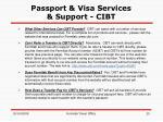 passport visa services support cibt25