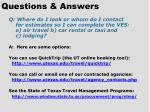 questions answers41