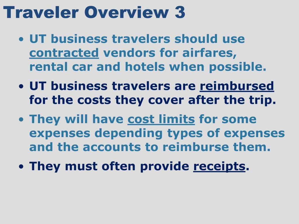 Traveler Overview 3