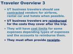 traveler overview 3