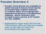 traveler overview 4