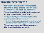 traveler overview 7