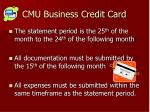cmu business credit card7