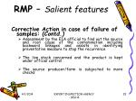rmp salient features25