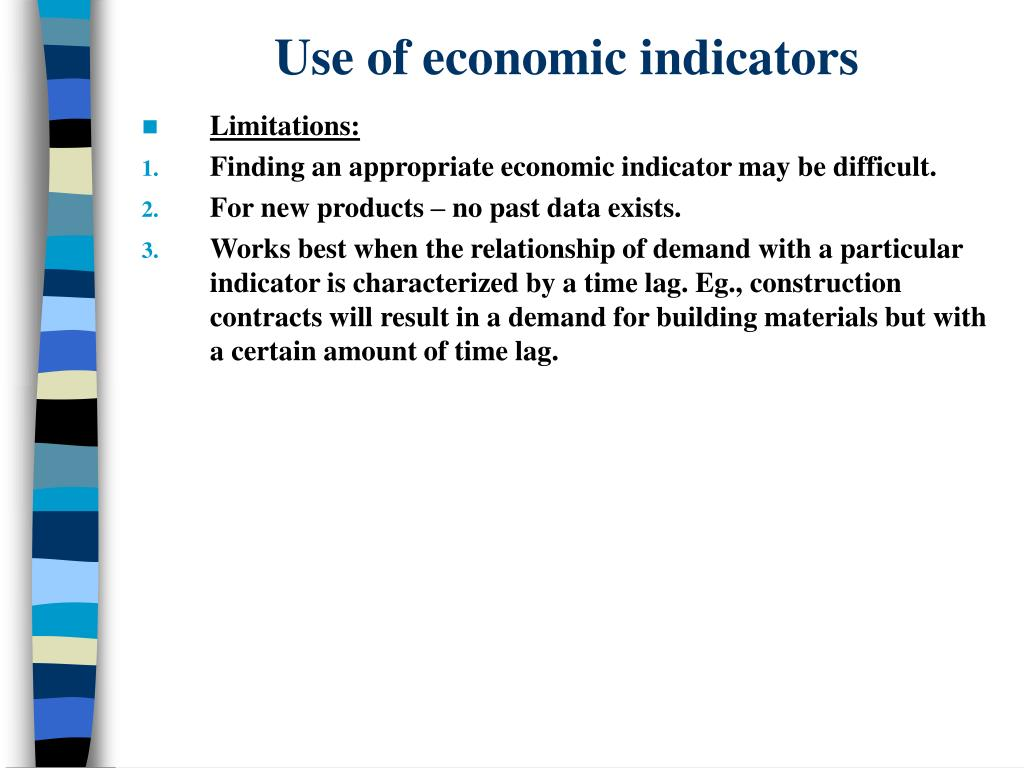 Use of economic indicators
