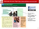 alternate access page http www suzidavis com corp htm