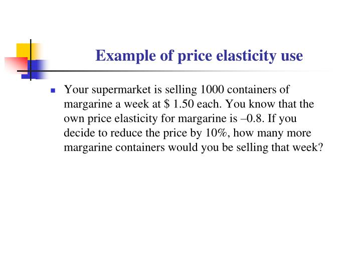 Ppt Lecture 5 Elasticity Of Demand And Supply Powerpoint