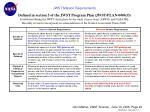 jwst mission requirements