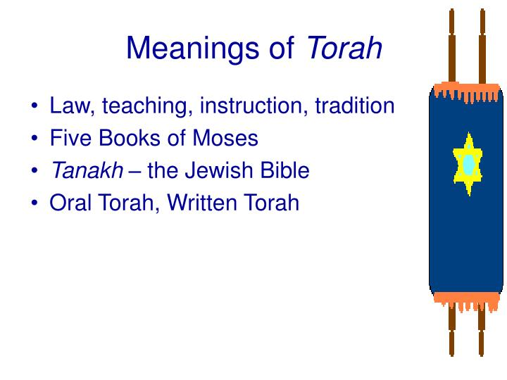 Meanings of torah