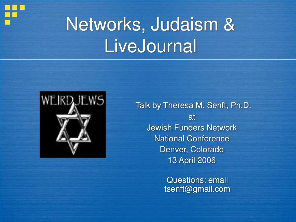 networks judaism livejournal l.