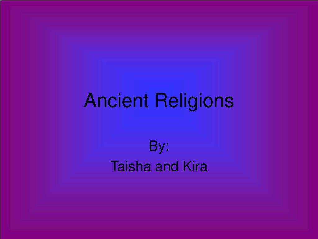 ancient religions l.