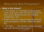 what is the new perspective32