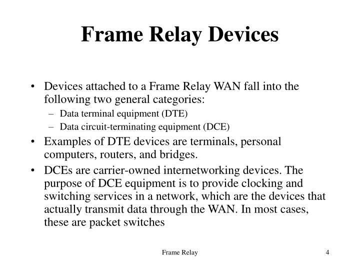 PPT - Frame Relay PowerPoint Presentation - ID:632092