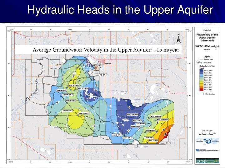 Hydraulic Heads in the Upper Aquifer