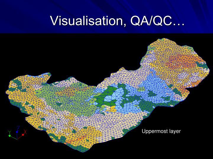 Visualisation, QA/QC…