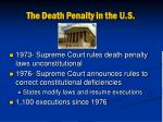 the death penalty in the u s