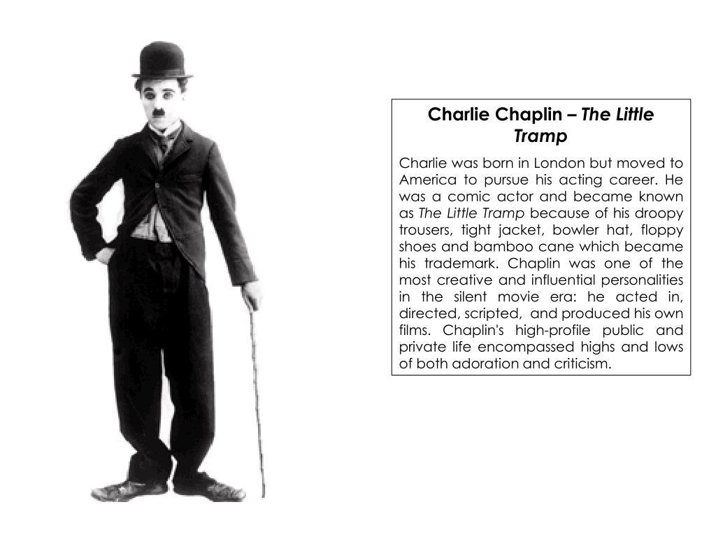 Charlie Chaplin –