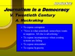 journalism in a democracy11