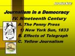 journalism in a democracy8