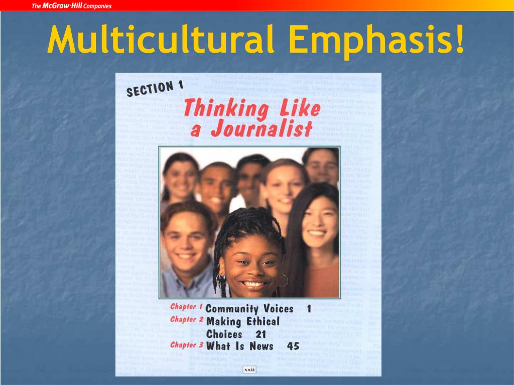 Multicultural Emphasis!