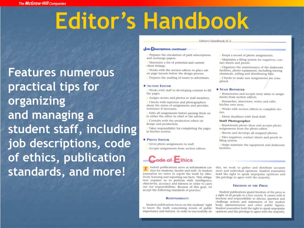 Editor's Handbook