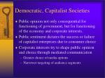 democratic capitalist societies