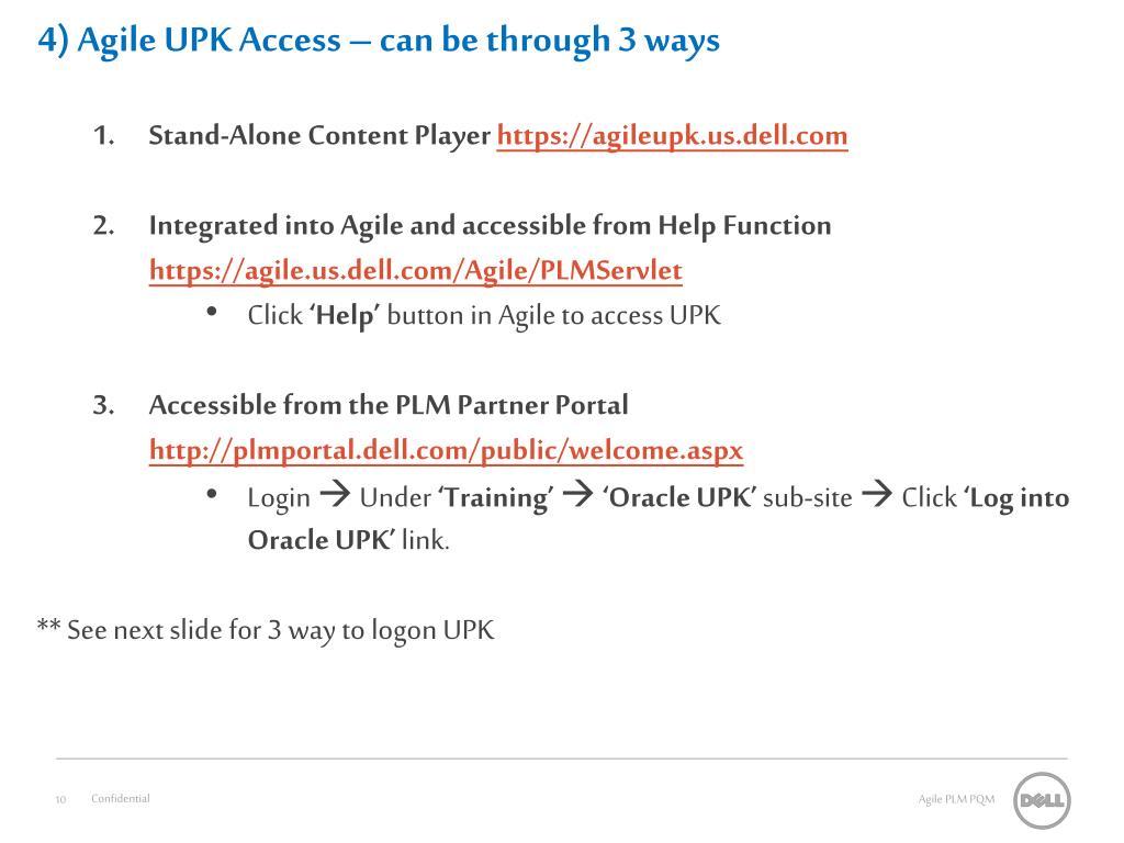 4) Agile UPK