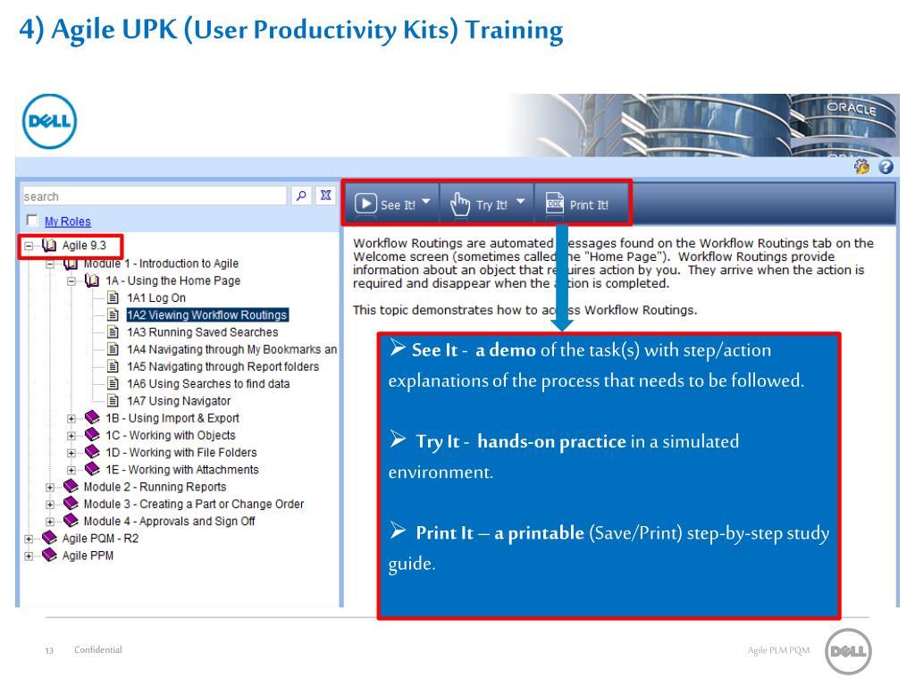 4) Agile UPK (