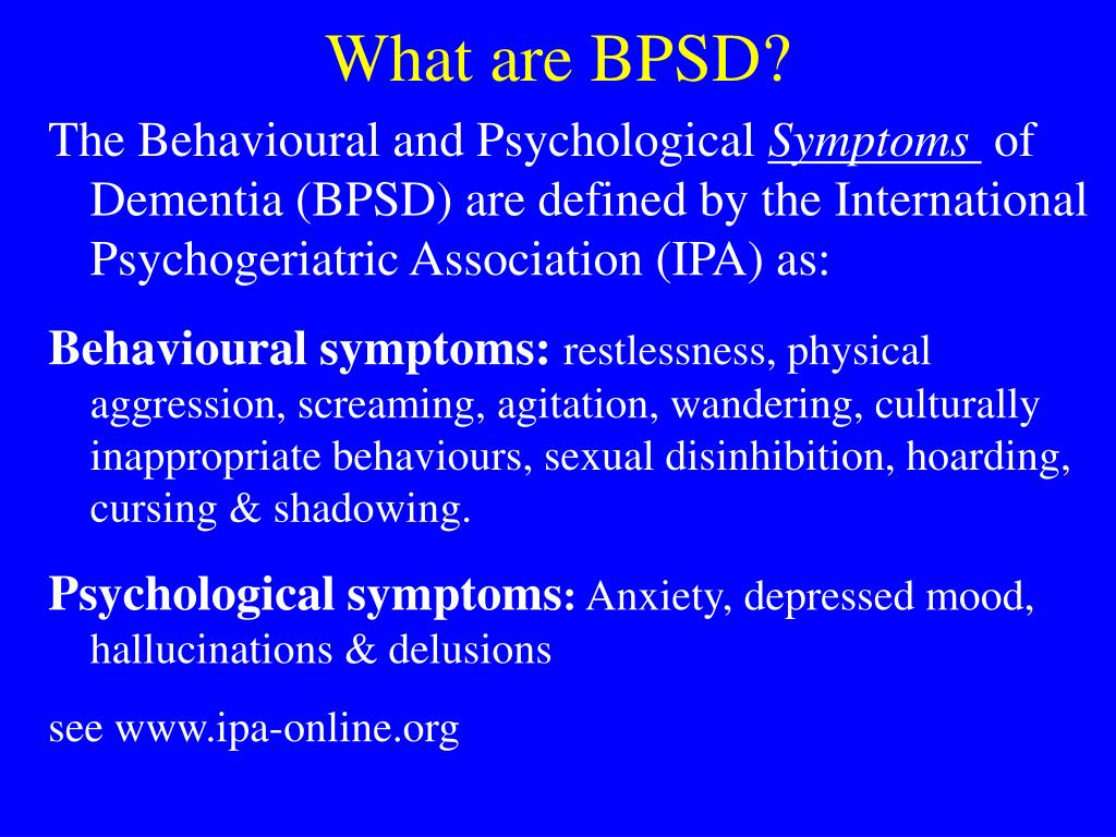 dementia inappropriate sexual physical behaviour