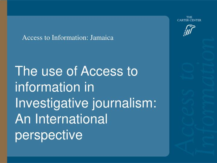 access to information n.