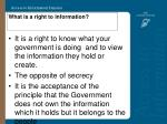 what is a right to information4