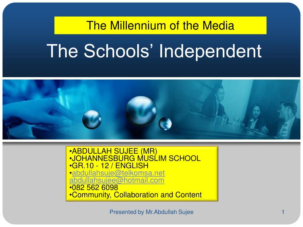 the schools independent l.