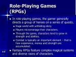 role playing games rpgs