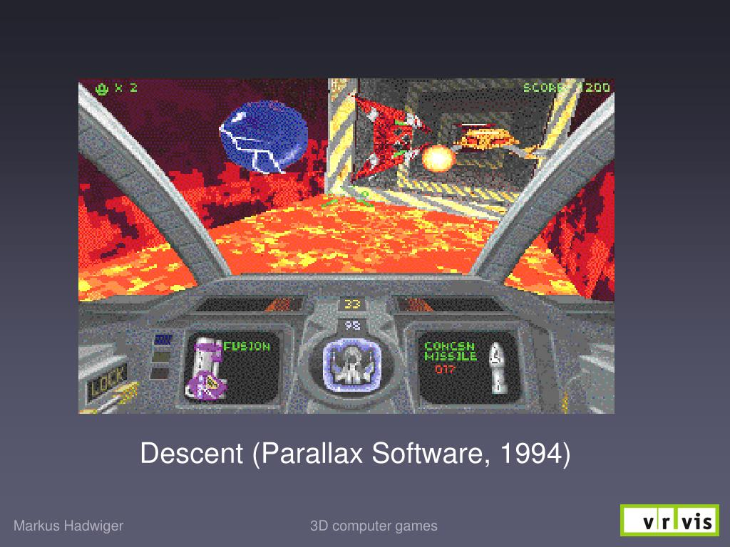 Descent (Parallax Software, 1994)