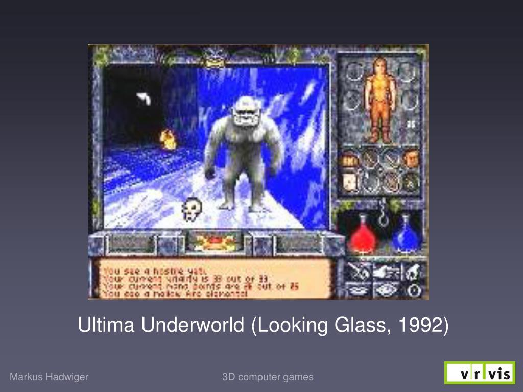 Ultima Underworld (Looking Glass, 1992)