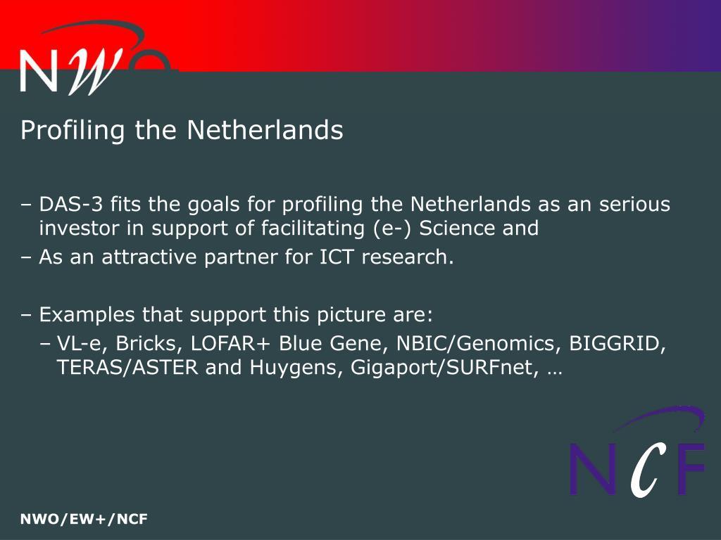 Profiling the Netherlands