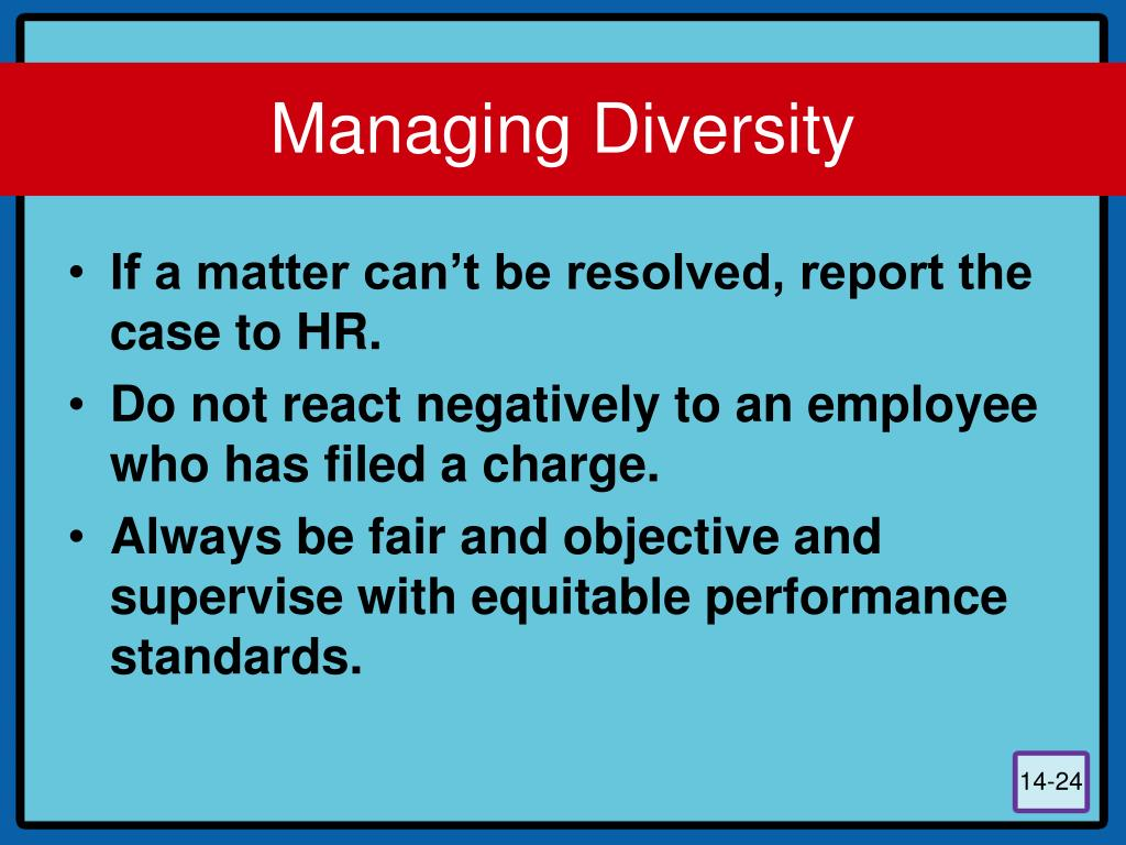 a report of managing workforce diversity in organization This report, managing an age-diverse workforce: employer and  diversity means in the workplace and how an effective diversity and inclusion.