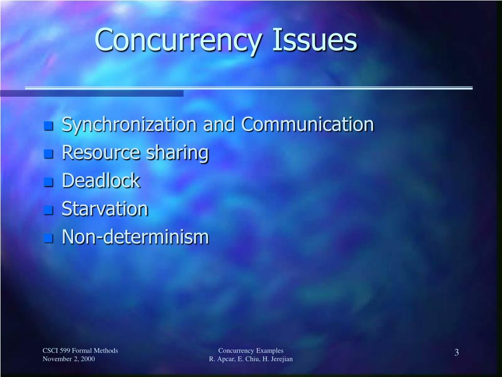 Concurrency Issues