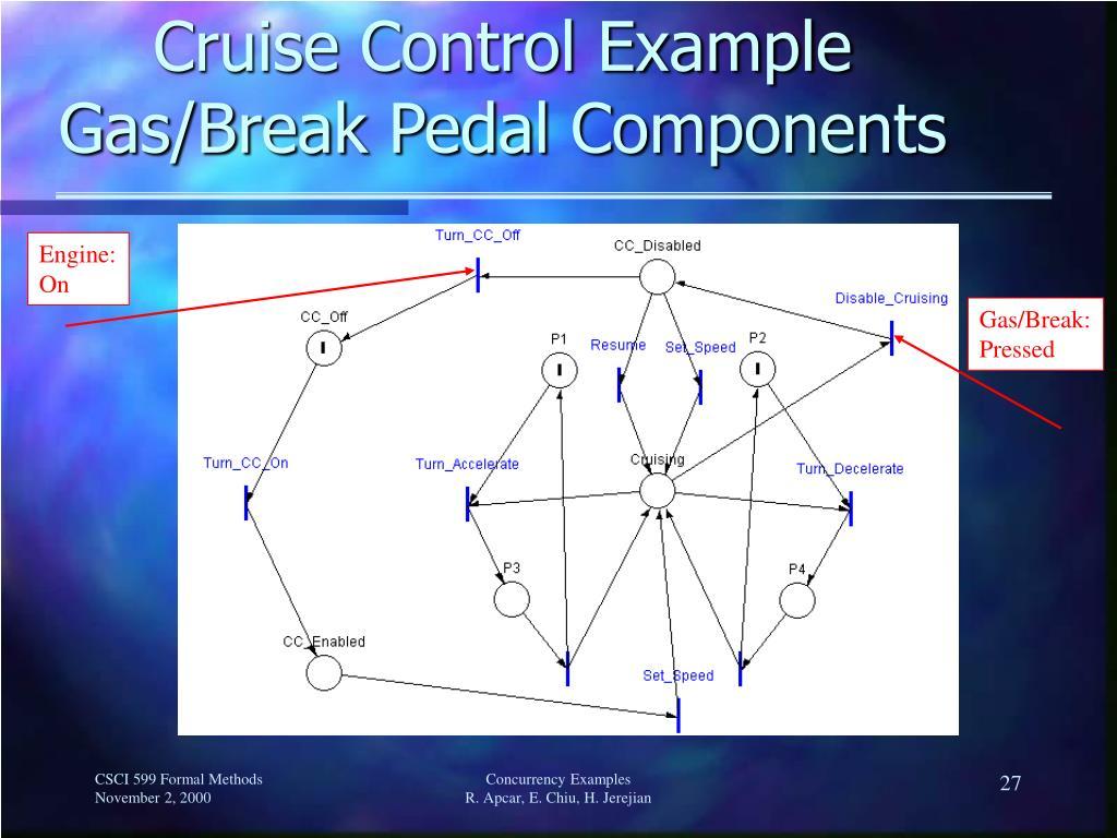 Cruise Control Example