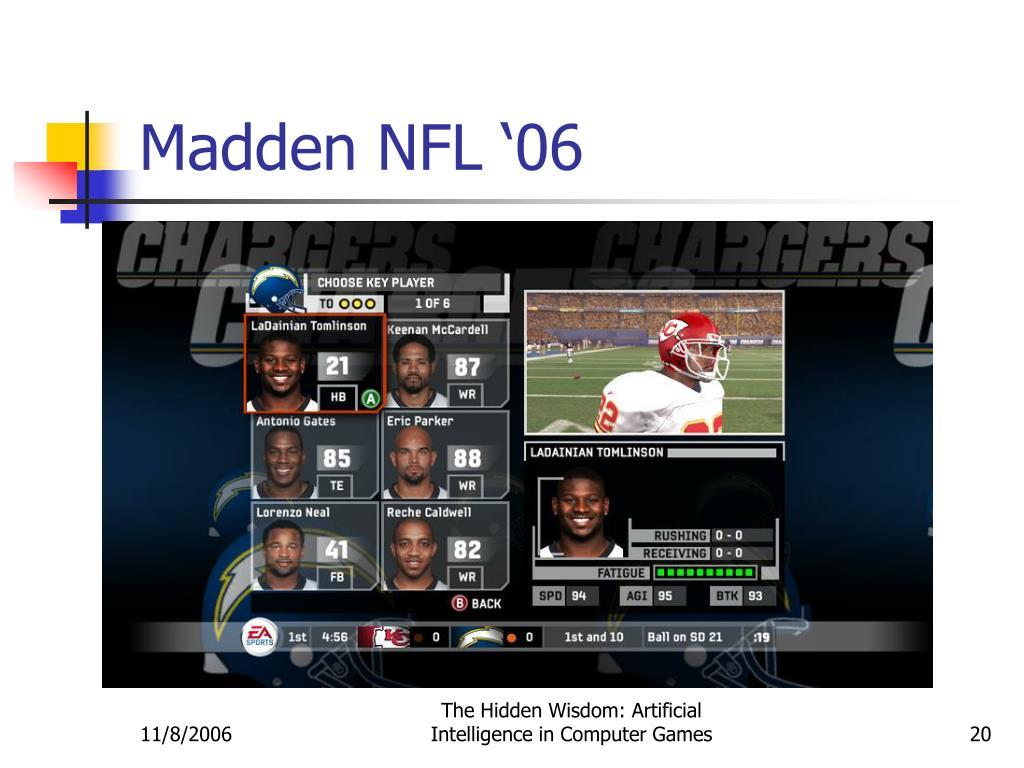 Madden NFL '06