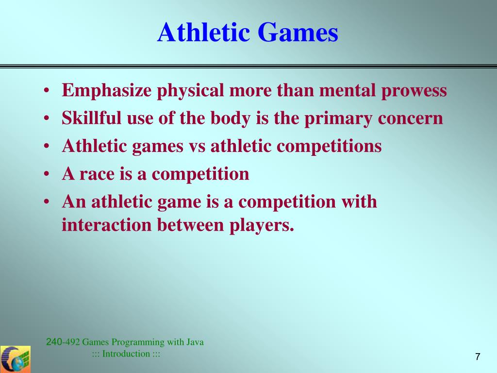 Athletic Games