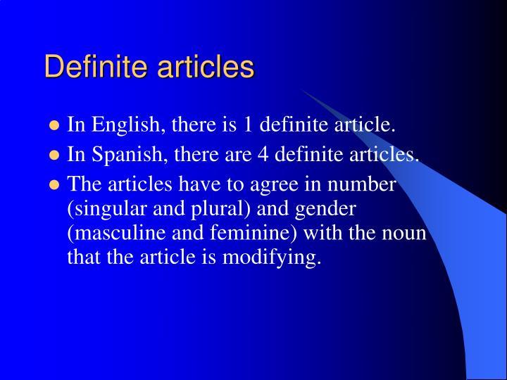 Definite articles3