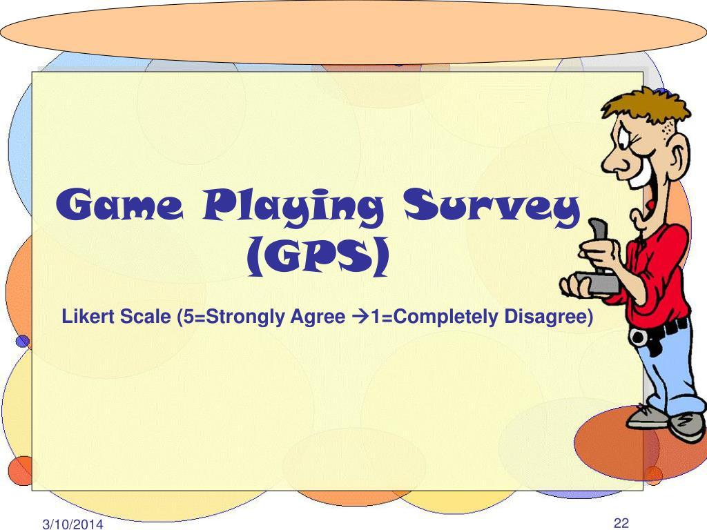 Game Playing Survey
