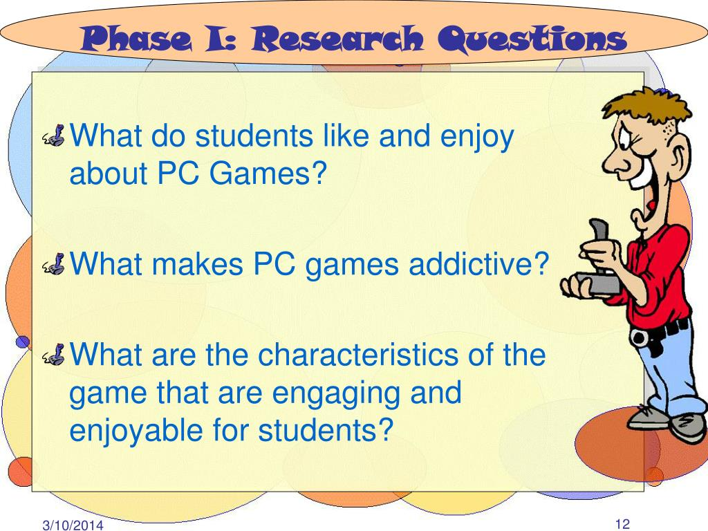 Phase I: Research Questions